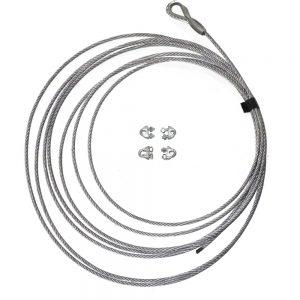 Galvanised Brake Cable-0