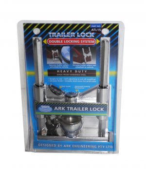 Trailer Deluxe Coupling Lock -0