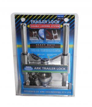 Trailer Deluxe Coupling Lock -0