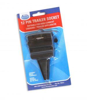 12 Pin Trailer Socket- Plug-0