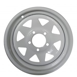 14 inch Galvanised- Powdercoated Sunraiser Wheel-0