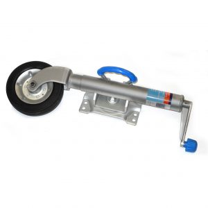 8inch Heavy Duty Swing Away Jockey Wheel-0