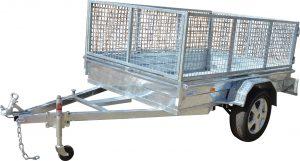 Box Trailer Caged-404