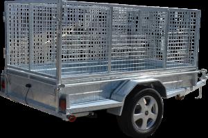 Box Trailer Caged-403
