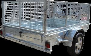 Box Trailer Caged-405