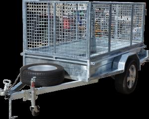 Box Trailer Caged-402