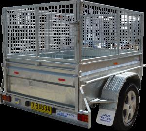 Box Trailer Caged-0