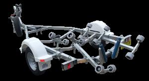 Single Axle Multi Roller Boat Trailer (Non braked)-258