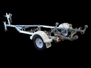 Single Axle Multi Roller Boat Trailer (Non braked)-394
