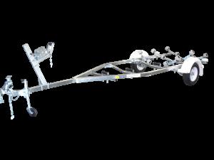 Single Axle Multi Roller Boat Trailer (Non braked)-395