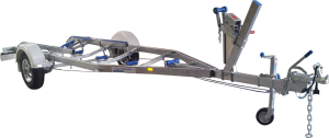 Poly Skid Boat Trailer (Single Axle, V Guide)-0