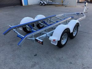 20FT Tandem Axle Poly Skid Trailer