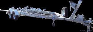23 - 26ft Breakaway Multi Roller Boat Trailer-0