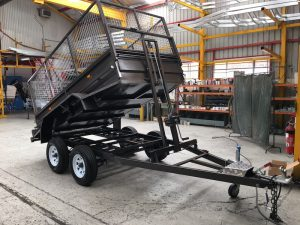 Painted Tipper trailers