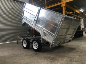 Galvanised Tipper Trailer