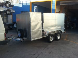 Tipper Trailer with Box
