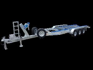 Custom Tri Axle Boat Trailer