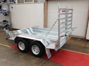 Galvanised Plant Trailers