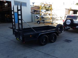 Tandem Painted Plant Trailer
